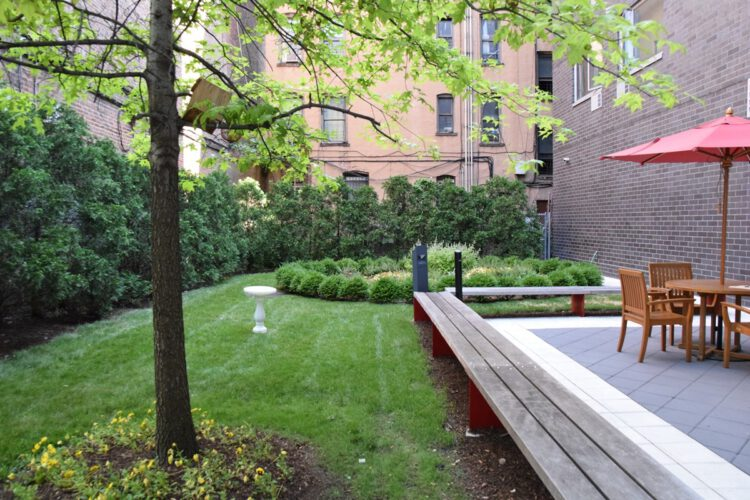 Brook Courtyard