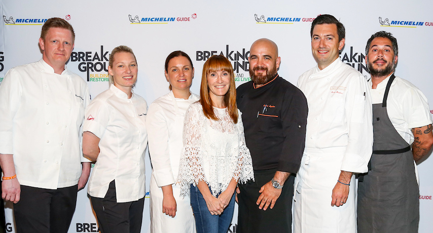 Brenda With Chefs2018