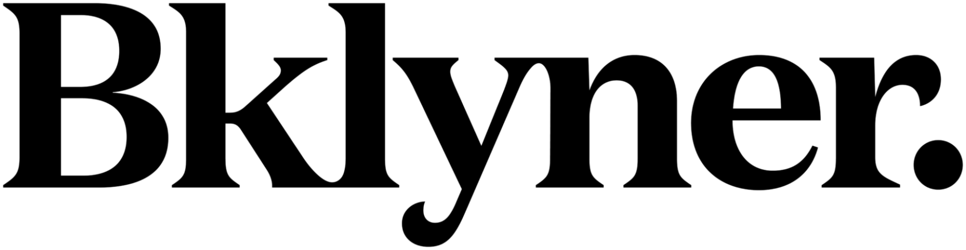 Bklyner Logo Black